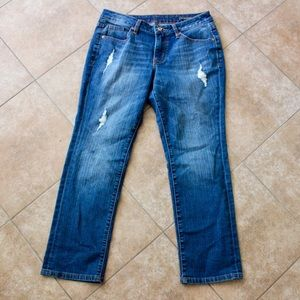 NEW CONDITION JAG JEANS RIPPED 8P